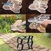 1Pcs DIY Manually Paving Cement Brick Concrete Molds Garden Plastic Stone Road Mold Garden Decoration For Garden Paving Tools flash sale