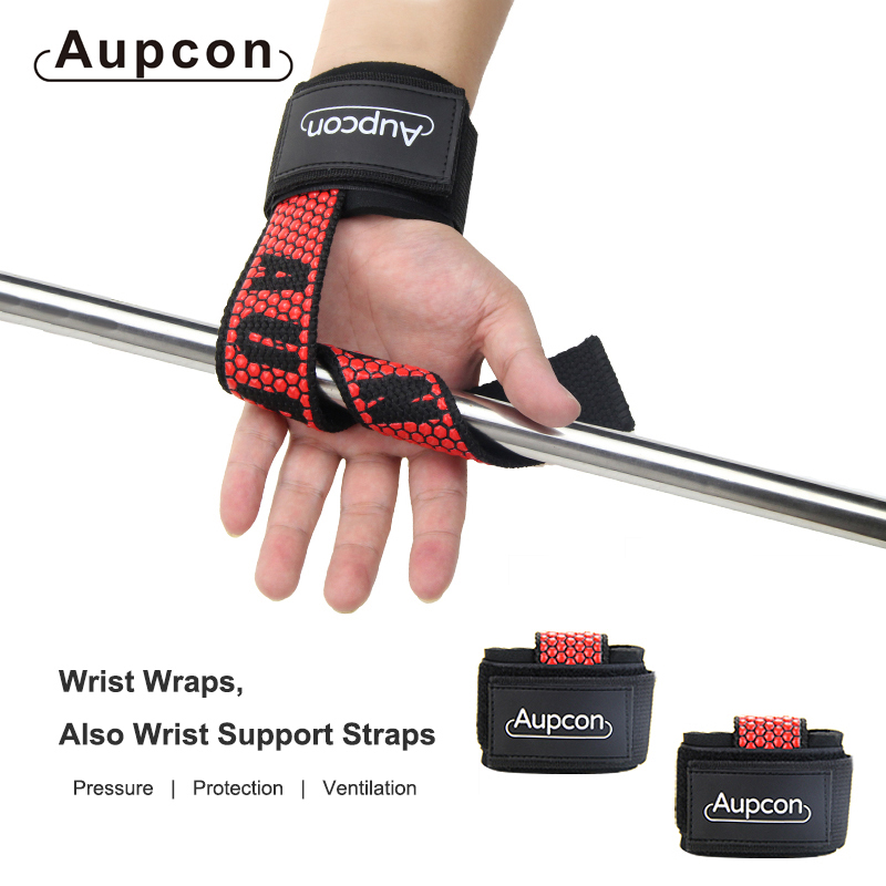 2 stücke <font><b>Gym</b></font> Weight Lifting Straps Workout Handgelenk Strap,Skid Proof und Langlebig, für Frauen Männer Fitness Crossfit Barbells Power <font><b>Sport</b></font> image
