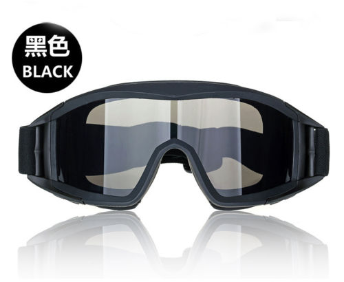 Image 3 - Tactical swat military Paintball 3 Lens  PCP Eye wear Eye Protection Goggle Mask-in Paintball Accessories from Sports & Entertainment