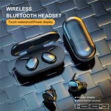 Y30 tws sem fio bluetooth fones de ouvido 4d estéreo com cancelamento ruído fones esporte à prova dwaterproof água para todos os smartphones