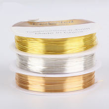 50cm/lot  0.3-1mm Dia 925 Silver Wire For Beading Stringing Connector DIY Bracelet  Components Jewelry Accessory