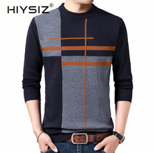 HIYSIZ Brand 2019 Streetwear Pull homme knitted ca
