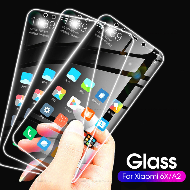 2-3 Pieces Protective <font><b>Glass</b></font> For <font><b>Xiaomi</b></font> Mi A3 A2 A1 Screen Protector on For <font><b>Xiaomi</b></font> MiA2 Lite MiA3 <font><b>MiA1</b></font> Safety Tempered <font><b>Glass</b></font> Film image