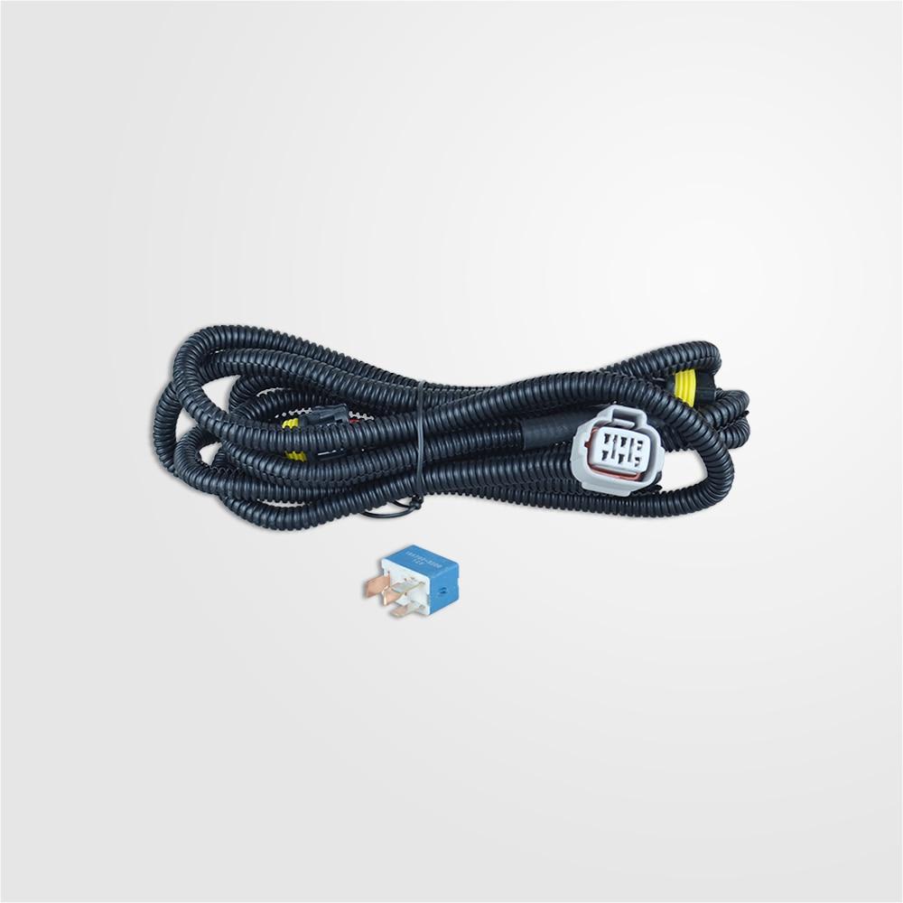 luz de nevoeiro lampadas cablagem para mitsubishi outlander esporte asx lancer triton l200 captador