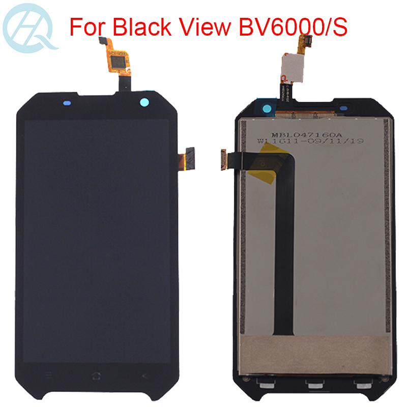 Original <font><b>LCD</b></font> For Blackview <font><b>BV6000</b></font> BV6000S Display With Frame <font><b>LCD</b></font> Touch Screen Assembly 4.7 Inch Screen Repair Parts image