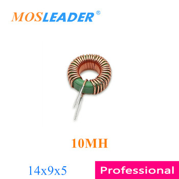 Mosleader 100 Uds 14x9x5 10MH 1495 14*9*5 DM inductor de modo diferencial anillo de inductores verde inductores hecho en China
