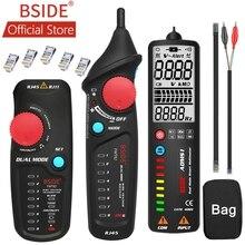BSIDE FWT82 câble réseau bimode traqueur fil Toner RJ45 RJ11 Ethernet LAN traceur analyseur détecteur de ligne