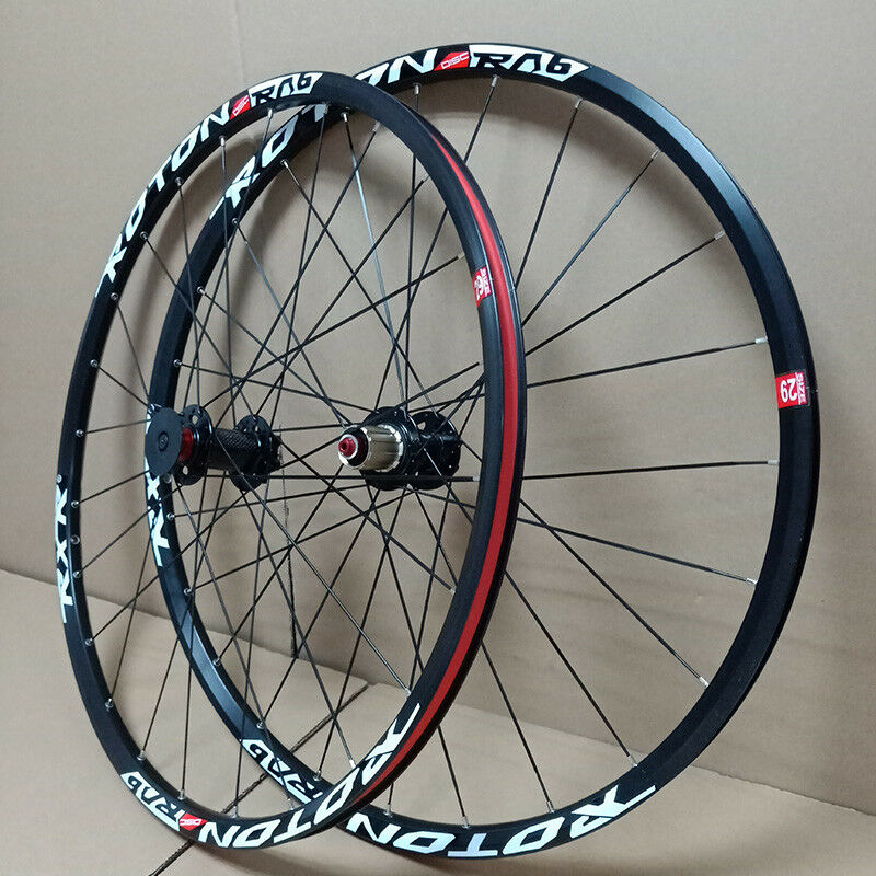 RXR 26er 27.5er 29er Mountain Bike Wheels Carbon Hub Bicycle Wheelset MTB Rims Wheel set Disc Brake Front&Rear 100/135mm QR