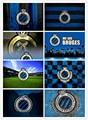 Новейшая Алмазная картина 5D DIY с логотипом футбольной команды, Полный алмаз KV, вышивка крестиком в подарок