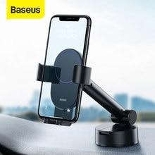 Baseus-Soporte de teléfono móvil para coche, montaje de ventilación de aire, gravedad, para iPhone 11 y 8