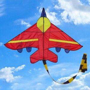 Новые воздушные змеи в форме самолета, уличные воздушные змеи, летающие игрушки, кайт для детей 95AE