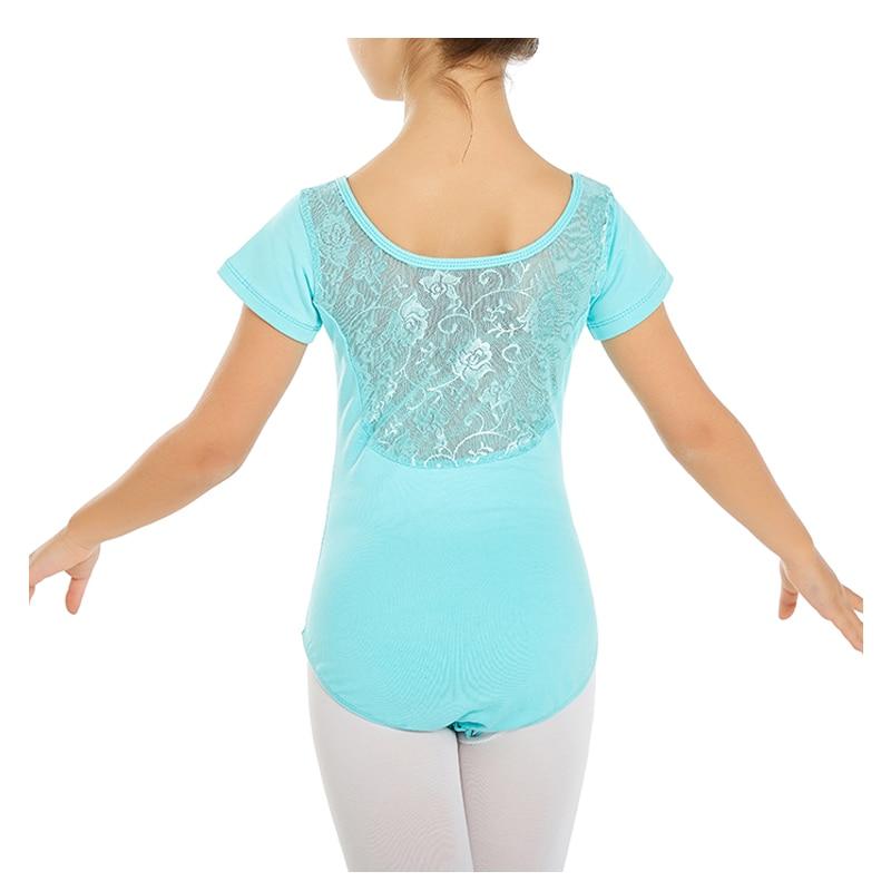 Кружевное балетное трико для девочек, платье балетное для девочки, Детская танцевальная одежда для девочек, детский балетный костюм для дев...