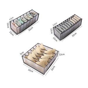 Underwear Bra Organizer Storage Box 5 Colors Drawer Closet Organizers Boxes For Underwear Scarfs Socks Bra Drawer Divider