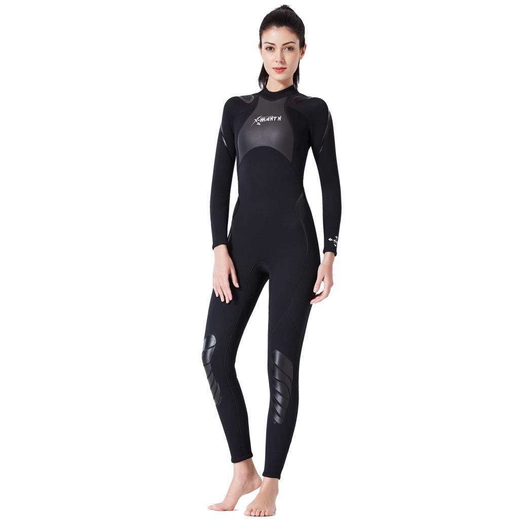 Femmes néoprène 3mm corps complet combinaison de plongée en apnée dos combinaison de plongée combinaison maillots de bain combinaison de Surf combinaison de plongée