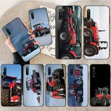 Nbdruicai Massey Ferguson Tractoren Diy Luxe Telefoon Case Voor Redmi Note 8 8A 7 6 6A 5 5A 4 4X 4A Go Pro Plus Prime(China)