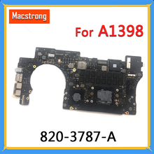 "Getestet Original A1398 Motherboard für MacBook Retina 15 ""Spät 2013 2014 i7 2,3 GHz 2,5 GHz 16GB RAM logic Board 820-3787-A"