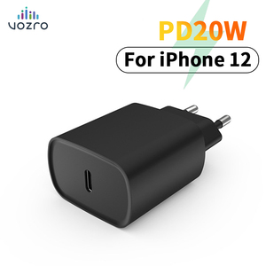 VOZRO PD Charger 20W Quick Charge 3.0 2.0 QC QC2.0 QC3.0 Type C Fast Charger For iPhone 12 X Xs 8 iPad Pro PD 20W Charger