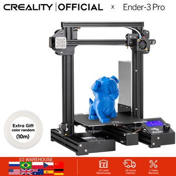 CREALITY 3D Ender-3 PRO Printing Masks Upgraded Magnetic Build Plate Resume Power Failure Printing KIT MeanWell Power Supply