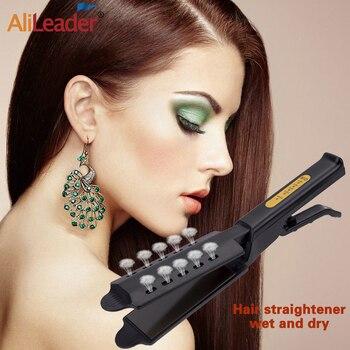 Alileader Electric Hair Straightener Professional Remington Dry & Wet Tourmaline Ceramic Panel Straighten