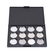 imagic 12X Empty Magnetic Eyeshadow Pigment Box Pigment Removable Aluminum Palette Pans Makeup 26mm Make-up Box недорого