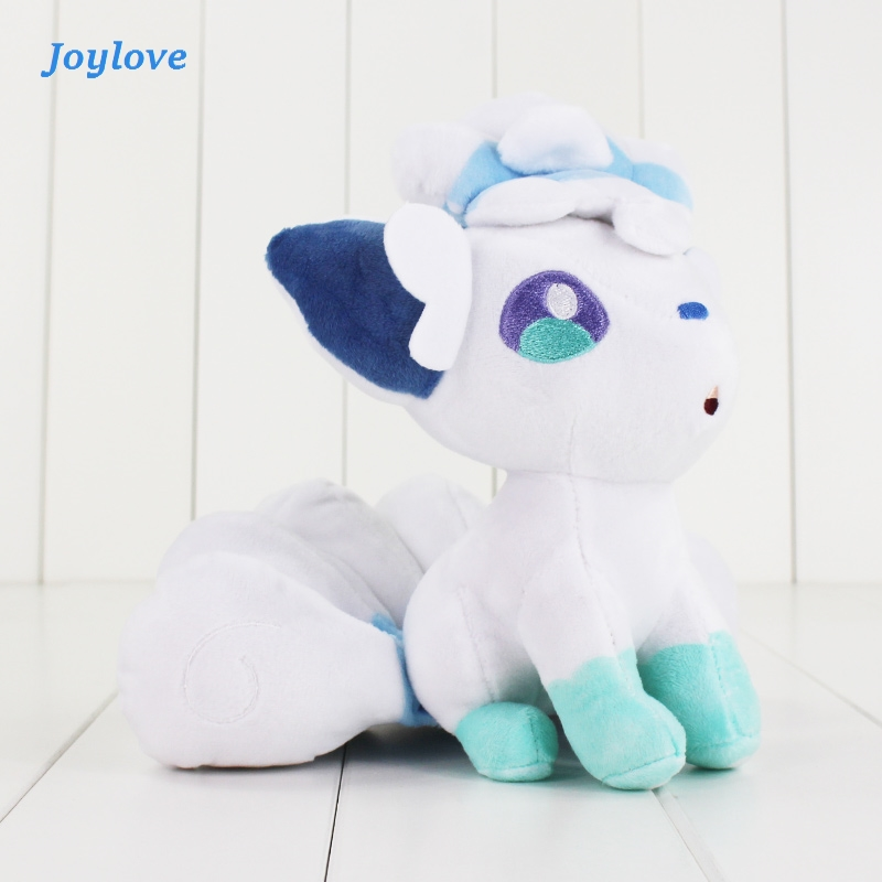 JOYLOVE 18cm White Plush Cartoon Doll Toy Pokemon High Quality PP Cotton Soft Stuffed Doll Toy For Children Gift
