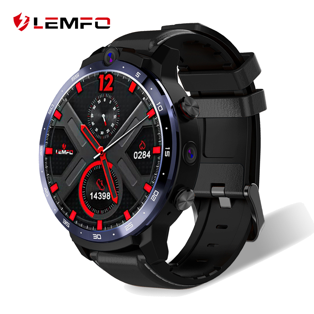 LEMFO LEM12 Face ID 1.6 Inch HD Display Dual Camera 4G Smart Watch Android 3GB 32GB Men Smartwatch Strap Replaceable|Smart Watches|   - AliExpress