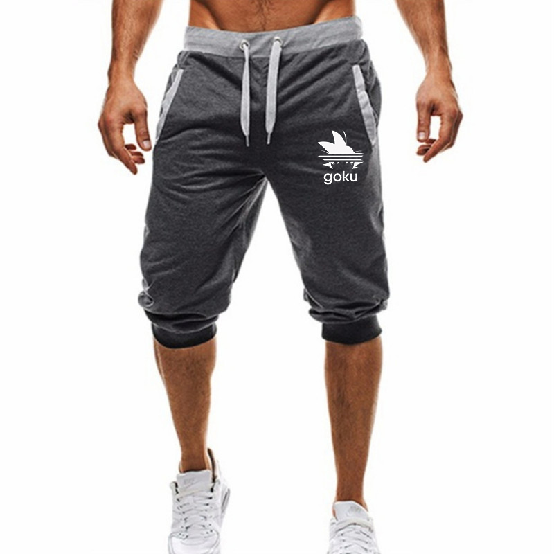2020 New Men's Fitness Quick Dry Shorts Loose Breathable Knee Length Summer Mens Casual Mesh Basketball Sportswear Short Pants