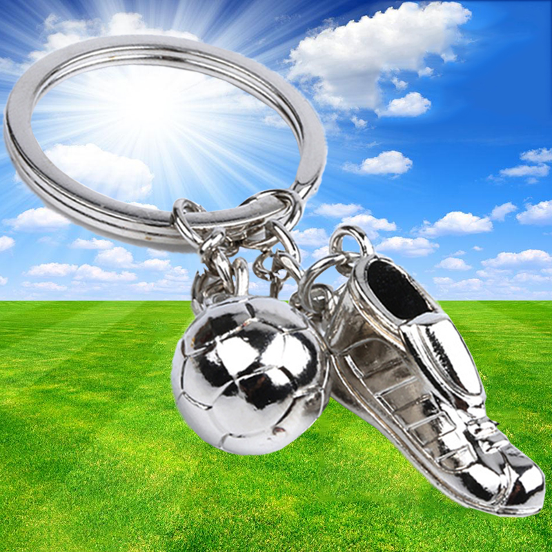 Football Boot Soccer Shoe Keychain Soccer Key Ring Keychains Soccer Ball Fan Team Gift Sports Birthday Club Boys Children Gifts