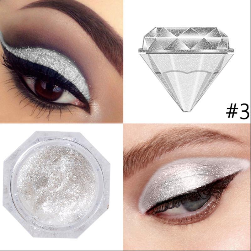 6 цветов, алмазные перламутровые жидкие тени для век, палитра теней для макияжа, блестящие глянцевые тени для век, жидкие глаза, Косметика дл...