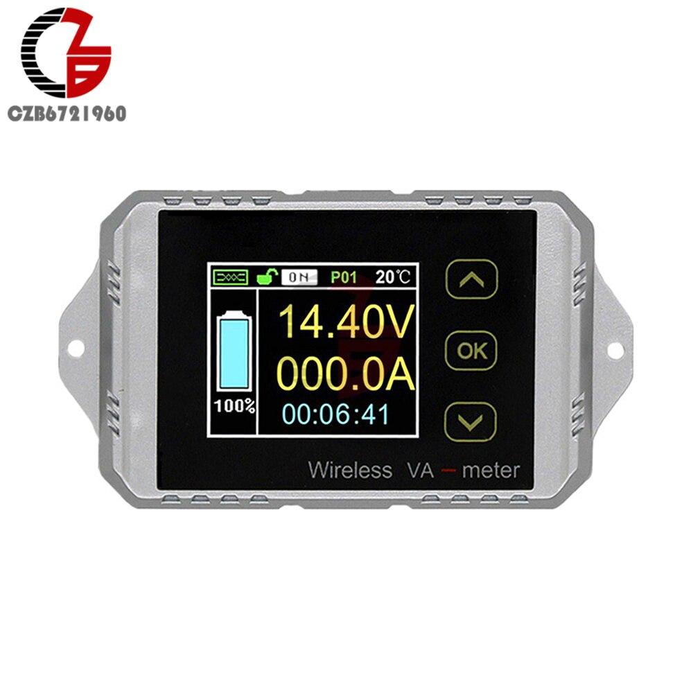 DC 0-300A 0-400V Автомобильный цифровой вольтметр, амперметр, ваттметр аккумуляторы Ёмкость индикатор 12V Напряжение тестер Зарядное устройство мо...