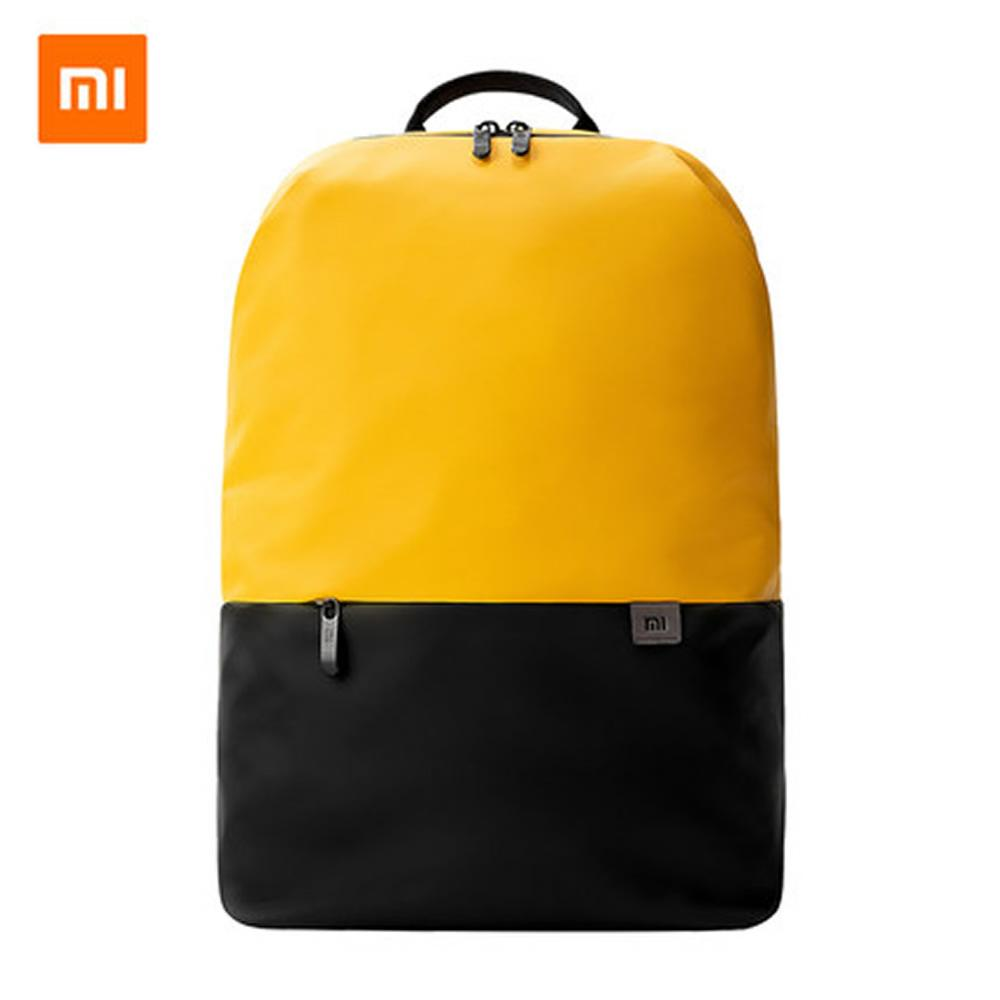 2019 Original Xiaomi Simple 20L High Capacity Casual Sports Lightweight Backpack Multi-function Laptop Pack Bags
