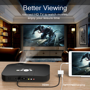 Image 4 - iPhone to HDMI Adapter 1080P Digital AV Converter Lightning to HDMI Cable Adapter For iPhone iPad HDMI Adapter For iPhone to TV