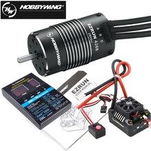 Hobbywing EzRun Max8 v3 150A 방수 Brushless ESC T/TRX 플러그 + 4268 KV2600 모터 + LED 프로그래밍 카드 1/8 RC 자동차 트럭 완구