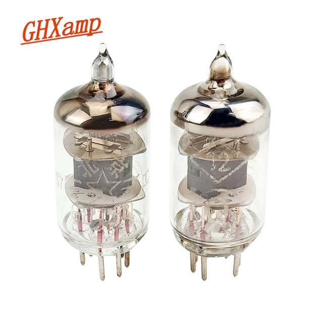 GHXAMP 새로운 6J1 Q 튜브 프리 앰프 튜브 앰프 전자 밸브 7 핀 교체 5654 6J1 6*1 EF95 403 오디오 부품 Diy 2pcs