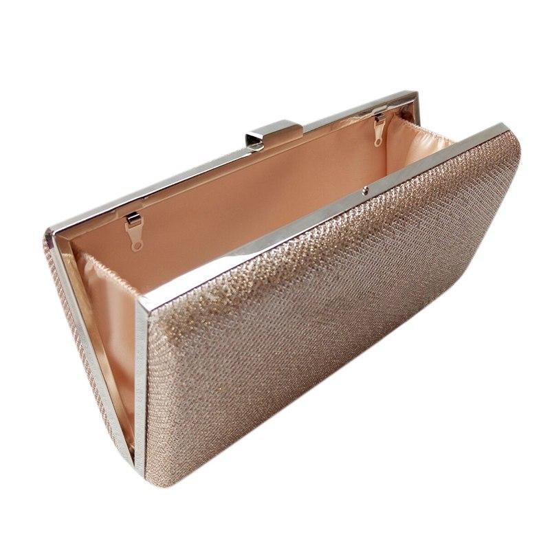 New Arrival Bright Evening Party Clutch Bag Chain Small Box Square Hard Shell Plaid Handbag Shoulder Messenger Bag New