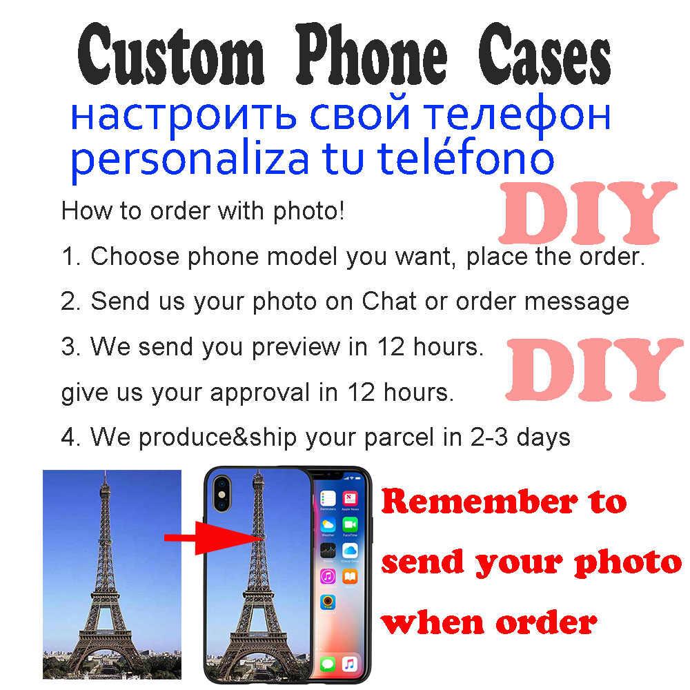 DIY Custom กรณีโทรศัพท์สำหรับ iPhone 7 กรณี Joker DC Batman สำหรับ iPhone Case 11 Pro X XS XR สูงสุด 8 6 6S 5 5s SE Etui TPU Funda