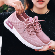 Siddons 2020 Breathable Sneakers Women Lightweight Running Sports Shoes Woman Comfortable Lace Up Luxury Brand Shoes Women Flats damyuan usps flat shoes women running shose womens flats casual lightweight comfortable breathable women sports shoes sneakers