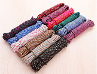 10 Yards / Batch 5mm Solid Rope Lanyard Non-slip Clothesline Climbing Camping Survival Equipment 2Pcs