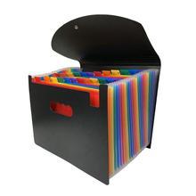 24 Карманный классифицированы папка для документов A4 Органайзер документов держатель для туалетной бумаги с крышкой для дома Для хранение о...