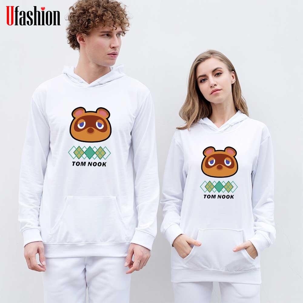 Animal Crossing Hoodies Sweatshirt Game Harajuku Hoody Sweatshirts Long Sleeve Lady K Pop Style Pullovers Fashion Cloths Tops