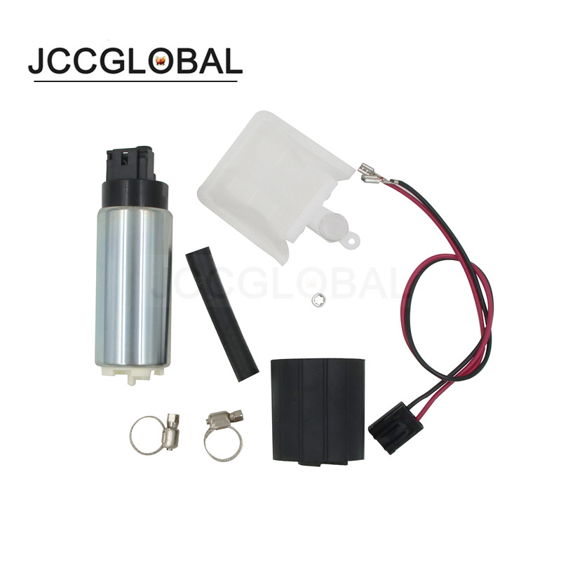 New Fuel Pump Electric  255lph  High Performance Plus Install Kit  # 4