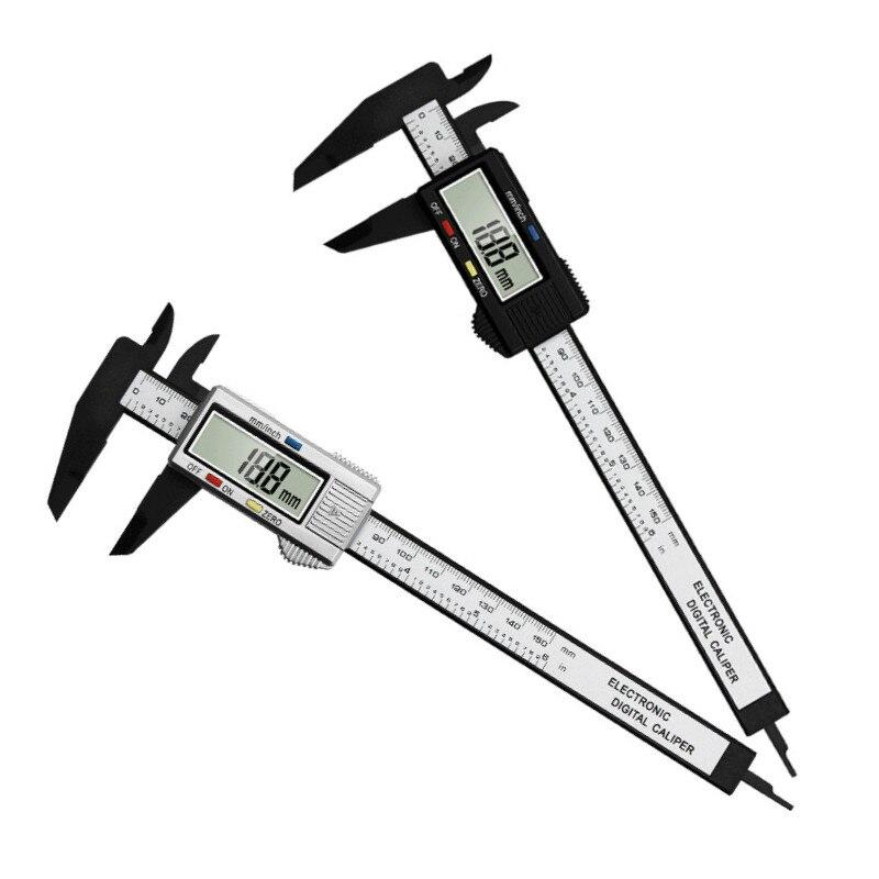 0-150 мм высокая прочность Пластик суппорт Электронный цифровой штангенциркуль, измерительные инструменты Диаметр