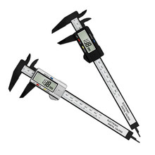 0-150mm High Strength Plastic Caliper Electronic Digital Vernier Caliper Measuring Tools Diameter