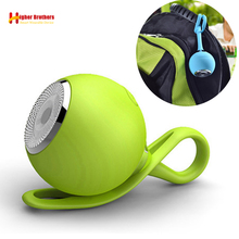 ポータブルミニ防水の Bluetooth TF カードスピーカー屋外ハイファイステレオワイヤレススピーカー自転車オートバイ MP3 音楽プレーヤー