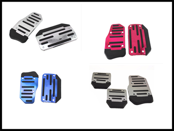 Car accessories aluminum alloy manual transmission non-slip pedal set for BMW 335is Scooter Gran 760Li 320d 135i E36 F30 F30 image