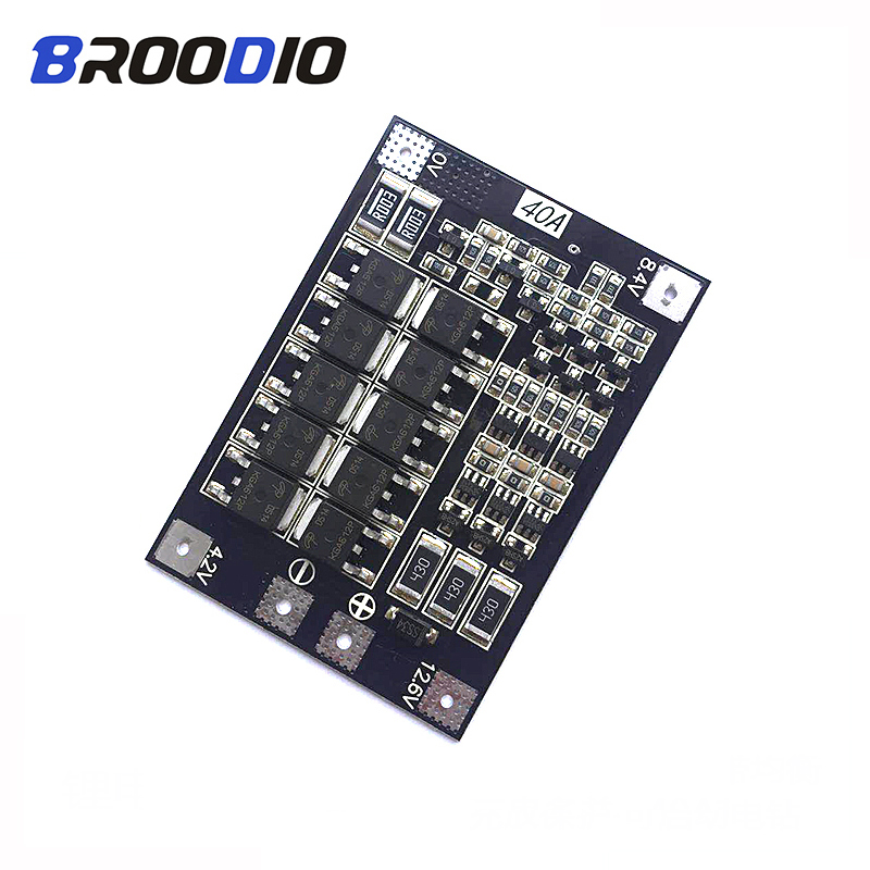BMS 3S 4S 40A 50A 18650 Lifepo4 Iron Phosphate Lithium Battery Protection Equalizer Board BMS 3.2V 3.7 Balancer With Balanced