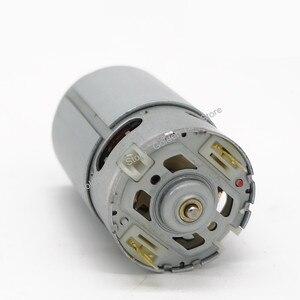 Image 2 - DC Motor 12 teeth replace for BOSCH cordless Drill Screwdriver GSR 7.2V 9.6V 12V 14.4V 16.8V 18V 21V accessories Spare Parts