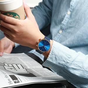 Image 5 - Relogio masculino CRRJU Top marka luksusowy mężczyzna zegarek ze stali nierdzewnej męski wodoodporny kalendarz chronograf zegarki kwarcowe