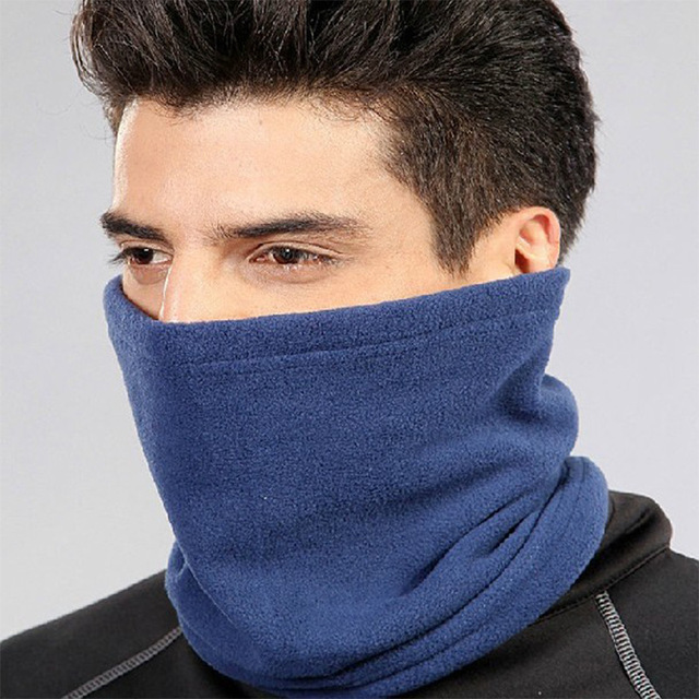 Warm Outdoor Headwear Polar Fleece Neck Tube Ear Warmer