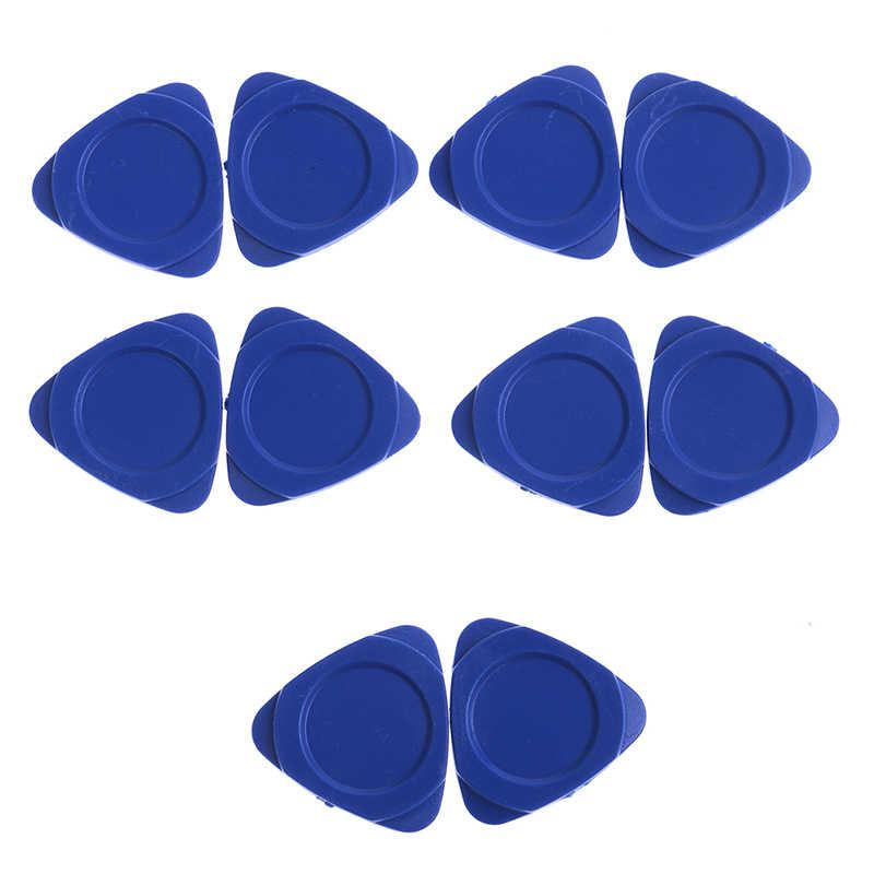 10 ชิ้น/ล็อตบางพลาสติกกีตาร์หยิบสามเหลี่ยมซ่อมโทรศัพท์มือถือชุดเครื่องมือ Pry เปิดชุดเครื่องมือสำหรับโทรศัพท์มือถือเครื่องมือ